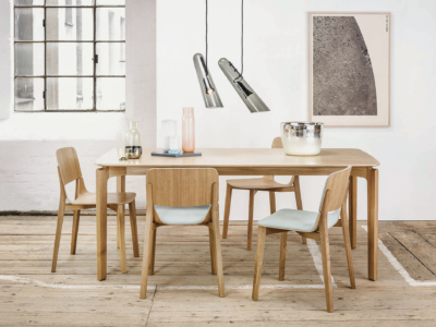 Židle a stůl Leaf