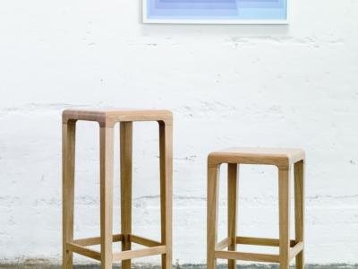 barová židle Rioja ve dvou výškových provedeních