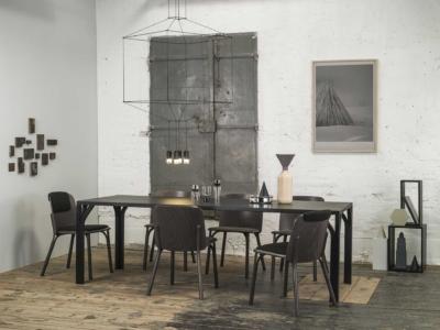Židle Split a jídelní stůl Bloom
