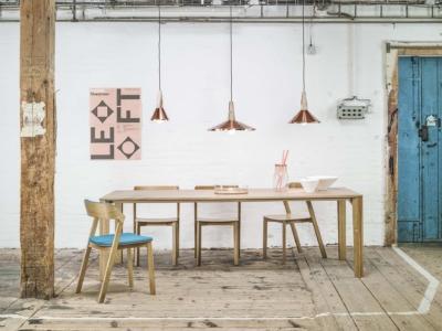 Židle Merano a stůl Trapez
