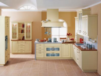 Oblíbená rustikální kuchyně Aida ve vanilkové